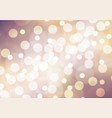 abstract white bokeh on purple yellow background vector image
