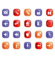 Set of gothic icons vector