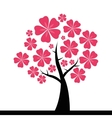 Cute Abstract tree vector image