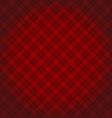 Lumberjack checkered diagonal square plaid red vector image