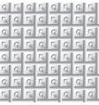 seamless geometry volume pattern vector image