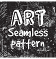 Art abstract background black and white seamless vector image