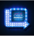 cyber-monday vector image