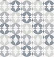 Silver Infinity Circles Seamless Pattern vector image vector image