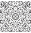 Black and White Color Geometric Pattern vector image vector image