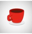 cup coffee isometrics design vector image