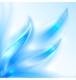 Blue shining smooth abstract background vector image