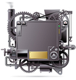 Fantastic machine vector image