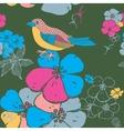 Bird Seamless Background vector image