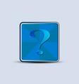 question tag symbol vector image