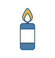 candle icon image vector image