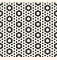 hexagonal texture geometric seamless pattern vector image