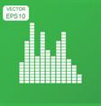 sound waveform icon business concept sound waves vector image