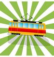 The fantastic Tramcar vector image