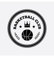 Basketball logo design vector image