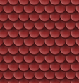 Roof tile background vector image vector image