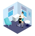 Future Parents Isometric Design vector image