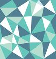 low polygon green tone vector image
