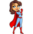 super mom cartoon clipart vector image
