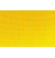 Metal holed grid background yellow hole vector image vector image
