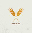 Wheat Logo vector image