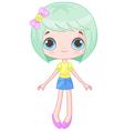 Cute Doll vector image