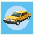 Taxi auto car design vector image