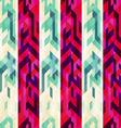 vintage stripe seamless pattern vector image