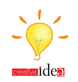 creative idea vector image