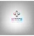 Hitech logo vector image