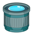 Objective icon cartoon style vector image