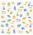 Thai seamless pattern vector image vector image