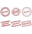 Secret stamps Vector Image