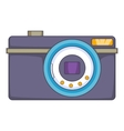 Digital camera icon cartoon style vector image