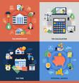 tax design concept vector image