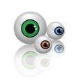 2008209 eyes vector image
