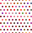 Seamless dot vector image vector image