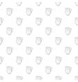 Glass jug pattern cartoon style vector image