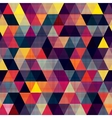 Seamless triangle pattern texture vector image
