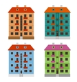 Apartment houses vector image vector image