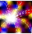 Abstract explosion background vector image vector image