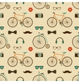 Hipster Colorful Seamless Pattern vector image