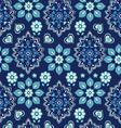 navy bandana seamless background vector image