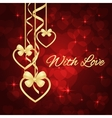 Wonderful Valentines background vector image