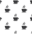 cap of tea seamless pattern vector image