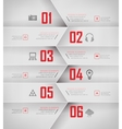 options banner vector image