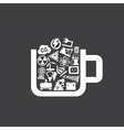 Industry a cup vector image vector image