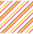 Seamless colorful striped pattern for easter eggs vector image
