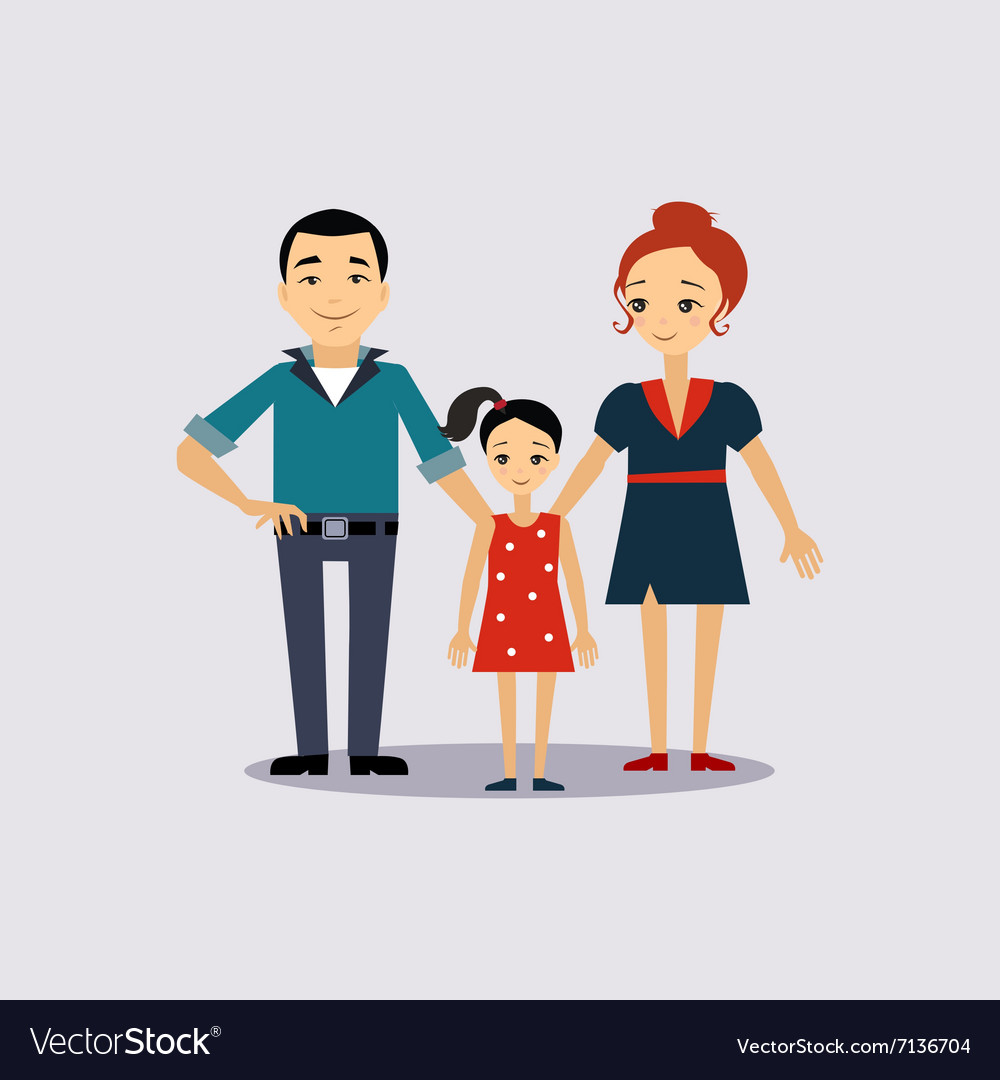 Family and education insurance vector