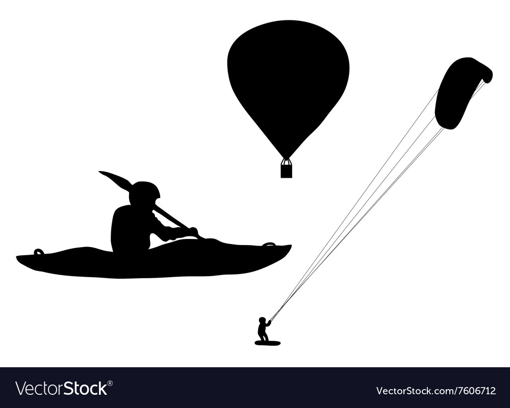Extreme sports vector